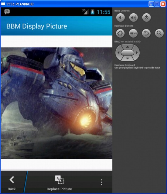BBM Display Picture Changed
